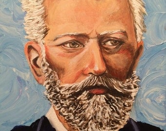 Tchaikovsky Classical Composer Painting