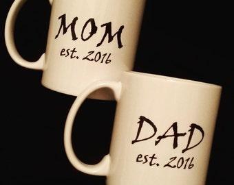 Mom/Dad Est. Mug