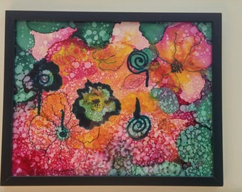 Whimsical Floral Abstract