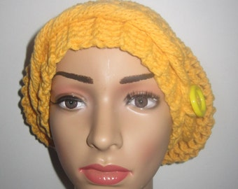 bonnet was yellow