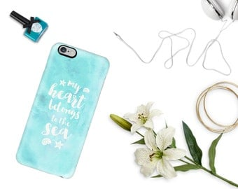 My Heart Belongs to the Sea Phone Case