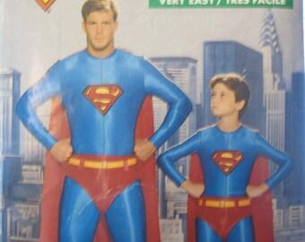 Boss 5874 Butterick SUPERMAN size: 7-year-old boy
