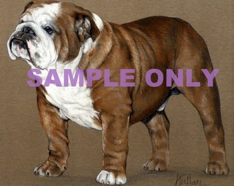 Custom Personalized Animal Portrait  - SAMPLE ONLY
