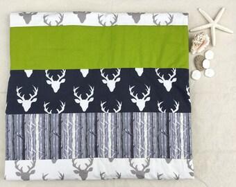 Woodland Forest Deer Quilt