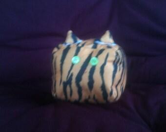Adorable cubed tiger plush