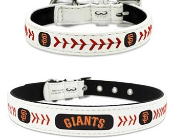 San Francisco Giants LeatherDog Collar