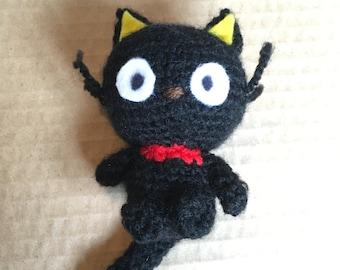 Crochet Hello Kitty doll - Chococat