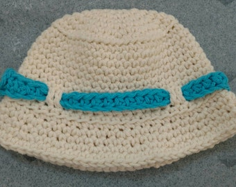 Crocheted Fishing Hat for Infants