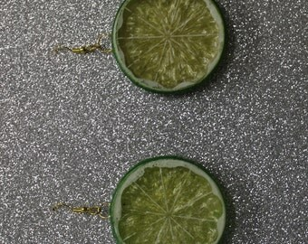 Citrus Slice Earrings