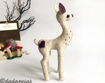 Fawn Toy | Kawaii Soft Toy  | Fairy Tale Toy  | Baby Deer | Fawn  | Deer Doll  |Fawn Decor  | Gift for her  | Fawn Fairy  | Fawn Miniature