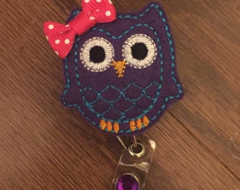 "Cute ""Bling"" Badge Reels! Hearts, Owls, and more!"