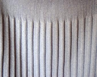 Light blue pleated skirt L size