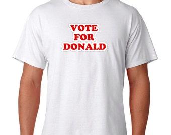 Election 2016 Vote For Donald TRUMP Presidential T Shirt Vote for Pedro Joke NEW