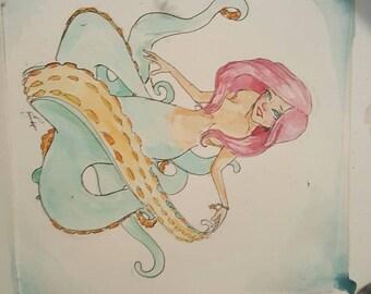 Octopus Lady
