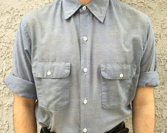 1960's Vintage Big Mac Button Up Shirt