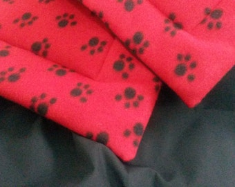 Red Paw Cushion