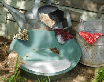 dish scrubbies, handmade dish scrubbie