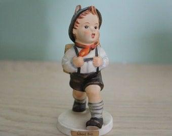 Hummel School Boy Figurine TMK 3 82 8/0