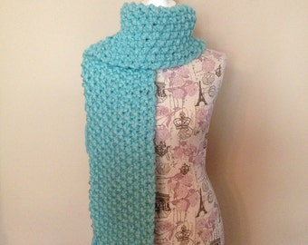 Winter Green Scarf