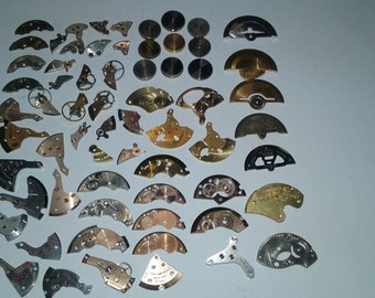 Vintage Watch Parts SteamPunk Sold As Is. A-14