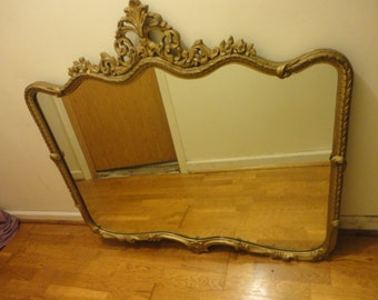 1800's Victorian Ornate Mirror