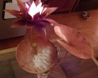 Copper Lotus with or without Lilly Pad