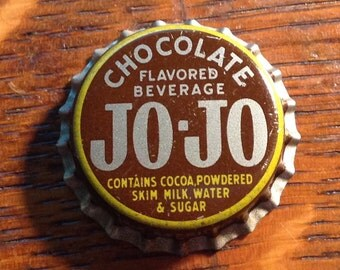 JO JO CHOCOLATE soda bottle cap cork unused