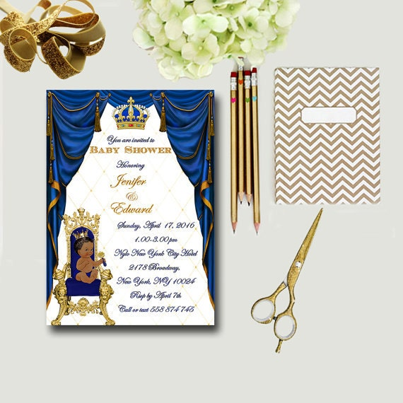prince baby shower invites royal baby shower invitations royal blue