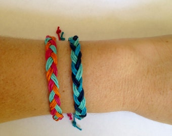 Beachy Braided Bracelets