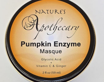 Glycolic Pumpkin Enzyme Masque with Glycolic Acid, Vitamin C & Ginger