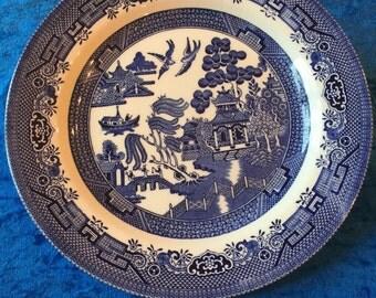 Blue Willow Dinner Plate