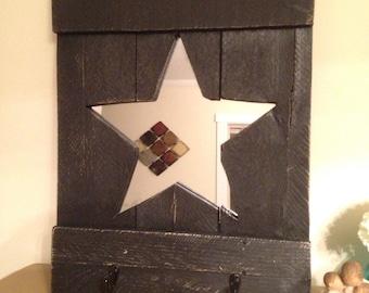 Rustic Star mirror