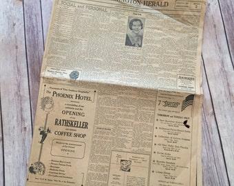Lexington Herald July 1st 1934 Newspaper