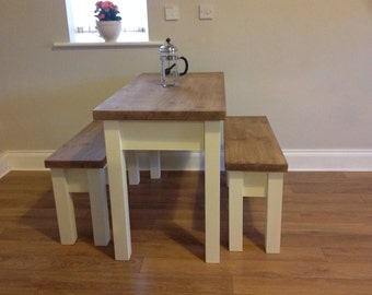 Handmade Kitchen Table & Benches.