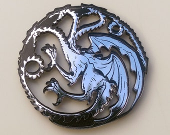 House Targaryan Dragon Sigil Pin  - Game of Thrones Inspired