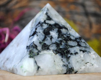 Rainbow Moonstone Crystal Pyramid - 963.31