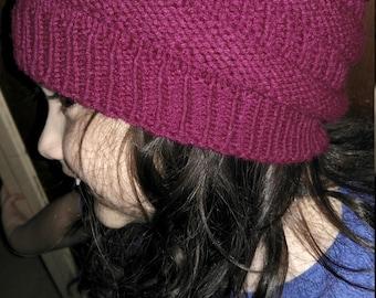 Topsy Turvy Spiral Hat