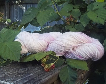 "Naturally Dyed Worsted Weight ""Strawberry Malt"""