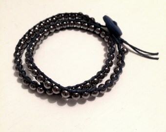 Bracelet wrap double man
