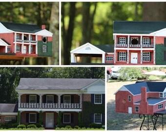 Bird House Replicas, custom built to order