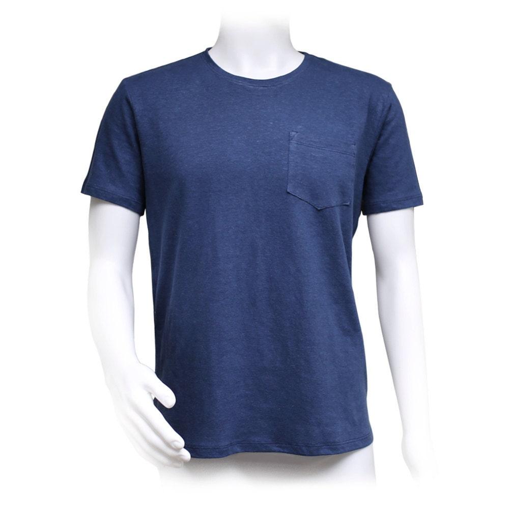 Men 39 s pocket t shirt 55 percent hemp and 45 percent for Mens hemp t shirts