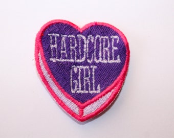 Hardcore Girl patch