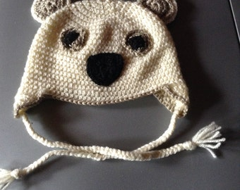 Pretty baby bear Hat