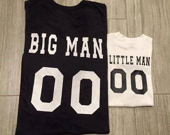 Big Man . Little Man . Dad & Son Set