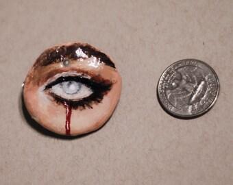 Blood Crying Eye Hairclip