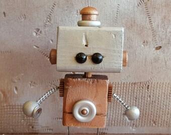 B.I.L.L.Y. wooden robot