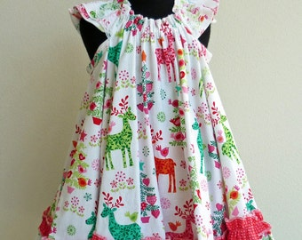 Christmas swing dress
