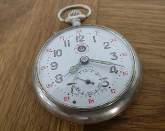Vintage Pocket watch ROSSKOPF Antimagnetic,swiss made
