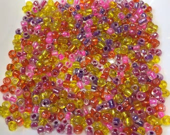 6/0 MULTICOLORED Seed Beads