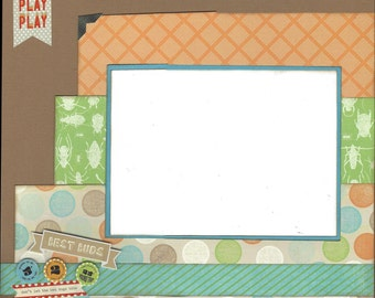 2 Page Scrapbook Page